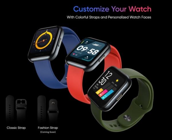 Realme раскрыла все подробности Realme Watch до анонса